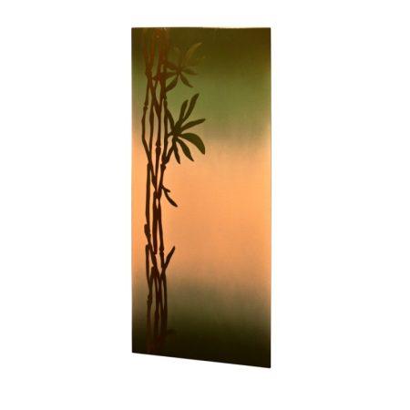 infrapanel UDEN-700 beköthető (dugvillás kábel nélkül) fali fix bambusz