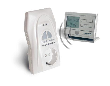 COMPUTHERM Q1RX dugalj + Q8RF (TX) termosztát párban