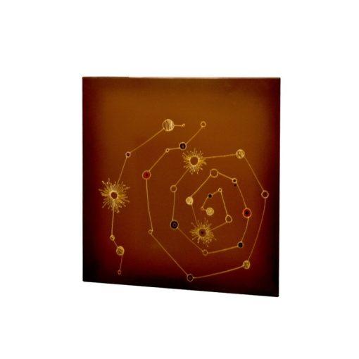 infrapanel UDEN-500 beköthető (dugvillás kábel nélkül) fali négyzet fix csillagképek