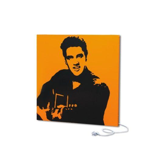 fali infra fűtőtest UDEN-500 konnektoros fali négyzet fix Elvis