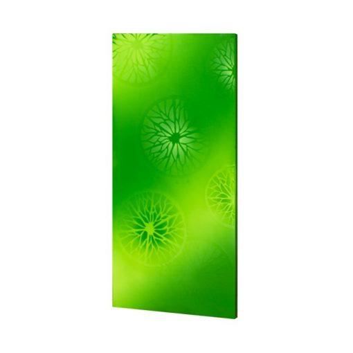 infrapanel UDEN-700 beköthető (dugvillás kábel nélkül) fali fix zöld citrom