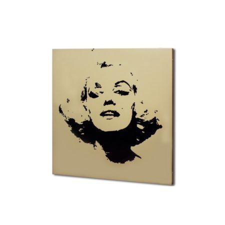 infrapanel UDEN-500 beköthető (dugvillás kábel nélkül) fali négyzet fix Marilyn