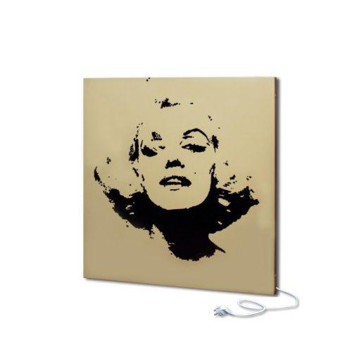 infrapanel UDEN-500 konnektoros fali négyzet fix Marilyn