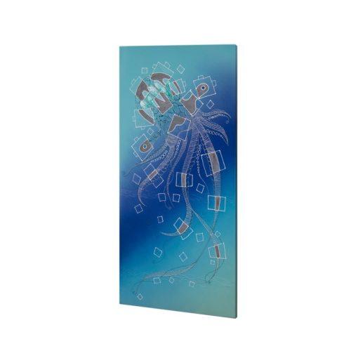 infrapanel UDEN-700 beköthető (dugvillás kábel nélkül) fali fix medúza