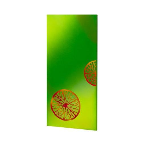 infrapanel UDEN-700 beköthető (dugvillás kábel nélkül) fali fix narancs
