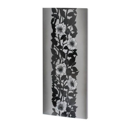 infrapanel UDEN-700 beköthető (dugvillás kábel nélkül) fali fix ezüst növény
