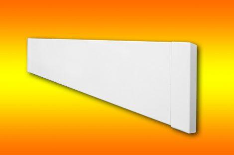 infrapanel UDEN-200 beköthető (dugvillás kábel nélkül) lábazati szegélyléc fix fehér