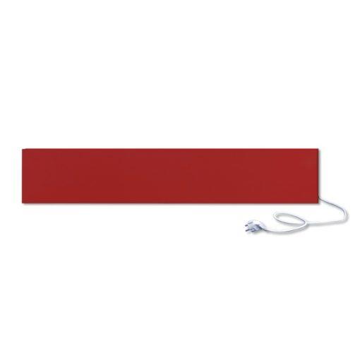 infrapanel UDEN-250 konnektoros fali fix RAL 3001 Szignálvörös