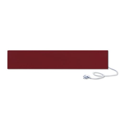 infrapanel UDEN-250 konnektoros fali fix RAL 3004 Bíborvörös