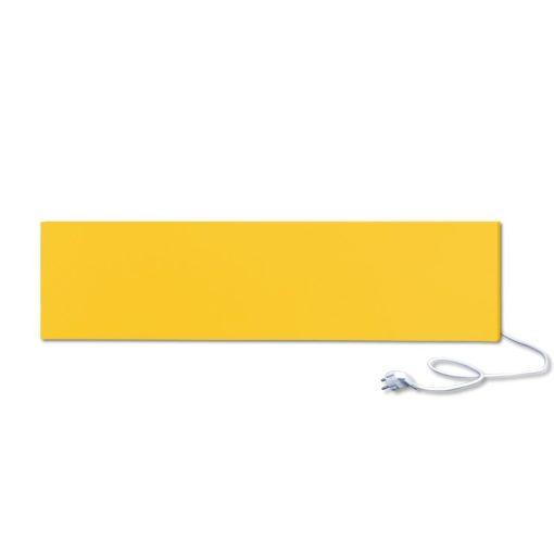 infrapanel UDEN-300 konnektoros fali fix RAL 1018 Cink sárga