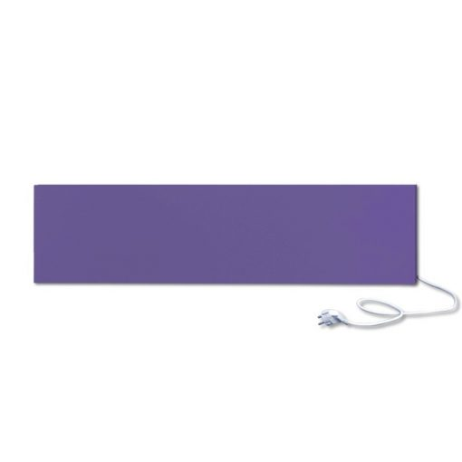 infrapanel UDEN-300 konnektoros fali fix RAL 4005 Kékeslila