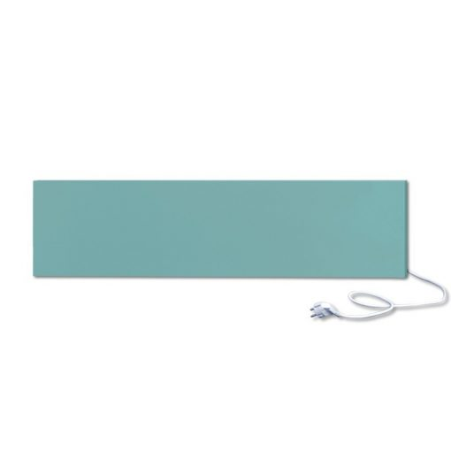 infrapanel UDEN-300 konnektoros fali fix RAL 6034 Pasztell türkiz