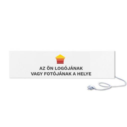 infrapanel UDEN-300 konnektoros fali fix személyre szabható (logóval vagy fotóval)