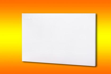 infrapanel UDEN-500 beköthető (dugvillás kábel nélkül) fali fix fehér