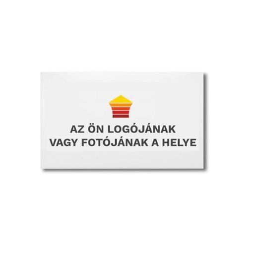 infrapanel UDEN-500 beköthető (dugvillás kábel nélkül) fali fix személyre szabható (logóval vagy fotóval)