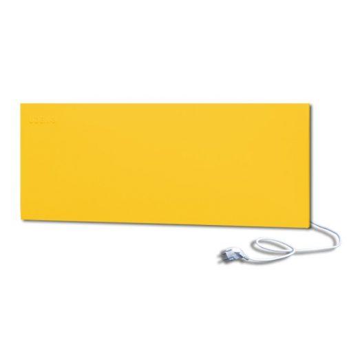 infrapanel UDEN-500D konnektoros fali széles fix RAL 1018 Cink sárga