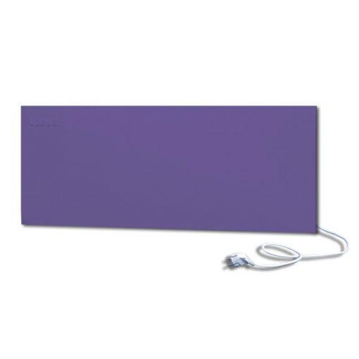 infrapanel UDEN-500D konnektoros fali széles fix RAL 4005 Kékeslila