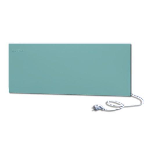 infrapanel UDEN-500D konnektoros fali széles fix RAL 6034 Pasztell türkiz