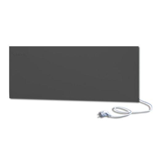 infrapanel UDEN-500D konnektoros fali széles fix RAL 9005 Mélyfekete