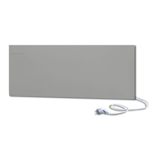 infrapanel UDEN-500D konnektoros fali széles fix RAL 9006 Fehér alumínium