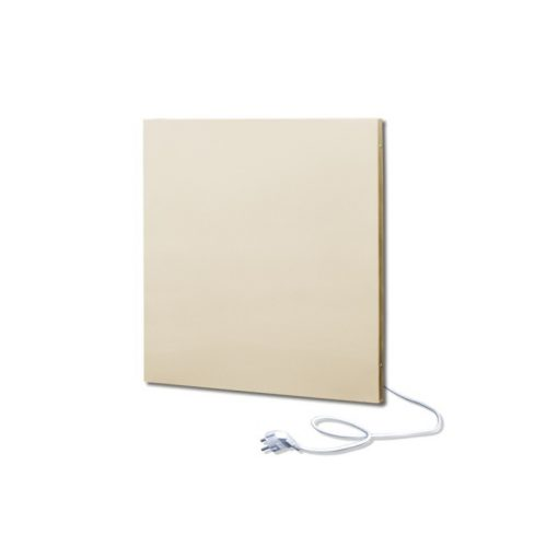 infrapanel UDEN-500K konnektoros fali négyzet fix RAL 1013 Gyöngy fehér