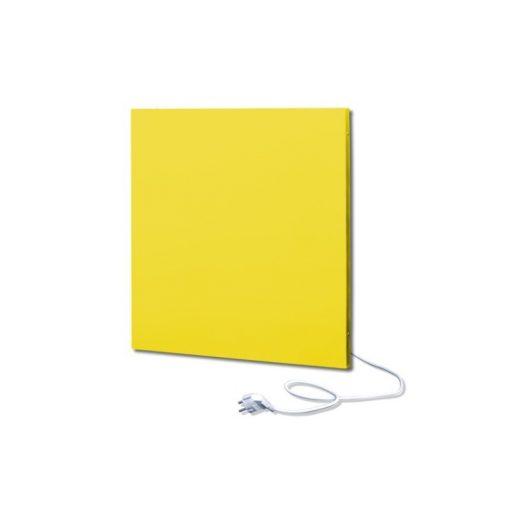 infrapanel UDEN-500K konnektoros fali négyzet fix RAL 1016 Kénsárga