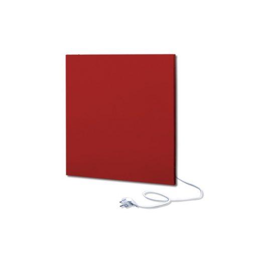 infrapanel UDEN-500K konnektoros fali négyzet fix RAL 3001 Szignál vörös