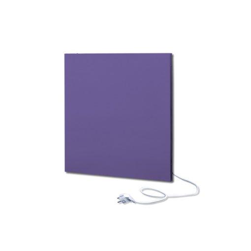 infrapanel UDEN-500K konnektoros fali négyzet fix RAL 4005 Kékeslila