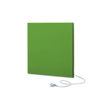 infrapanel UDEN-500K konnektoros fali négyzet fix RAL 6018 Sárgászöld