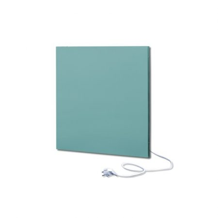 infrapanel UDEN-500K konnektoros fali négyzet fix RAL 6034 Pasztell türkiz