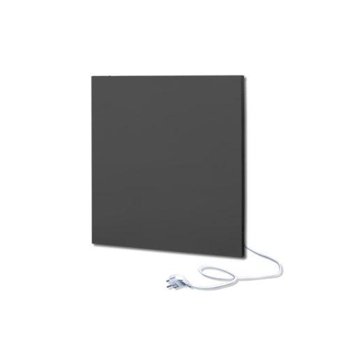 infrapanel UDEN-500K konnektoros fali négyzet fix RAL 9005 Mélyfekete