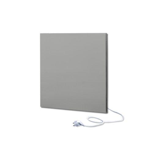 infrapanel UDEN-500K konnektoros fali négyzet fix RAL 9006 Fehér alumínium