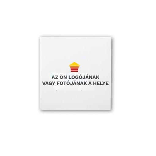 infrapanel UDEN-500K beköthető (dugvillás kábel nélkül) fali négyzet fix személyre szabható (logóval vagy fotóval)