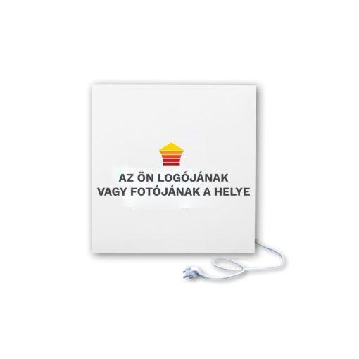 infrapanel UDEN-500K konnektoros fali négyzet fix személyre szabható (logóval vagy fotóval)