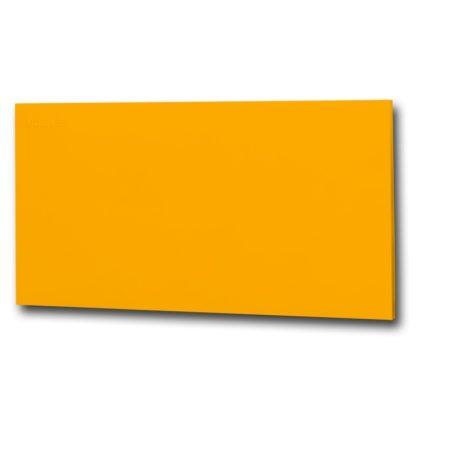 infrapanel UDEN-700 beköthető (dugvillás kábel nélkül) fali fix RAL 1003 Szignál sárga