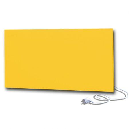 infrapanel UDEN-700 konnektoros fali fix RAL 1018 Cink sárga