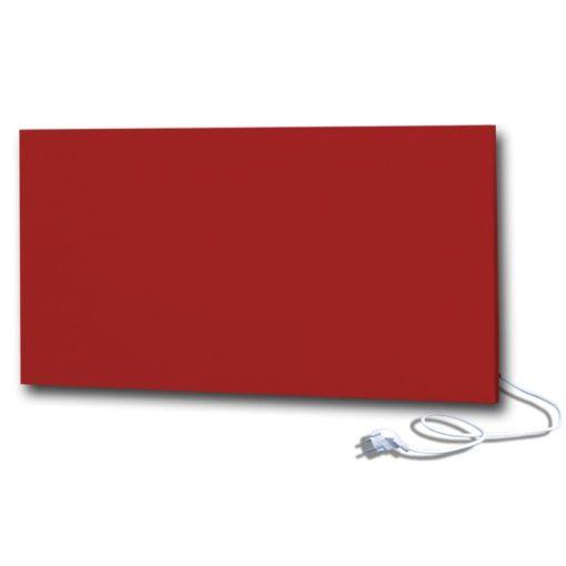 infrapanel UDEN-700 konnektoros fali fix RAL 3001 Szignál vörös